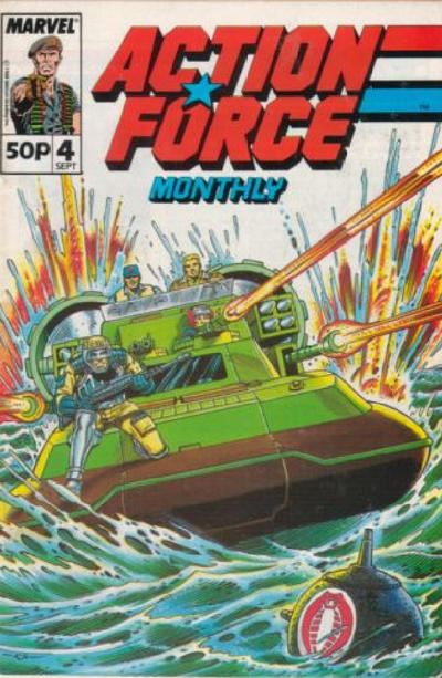 Cover for Action Force Monthly (Marvel UK, 1988 series) #4