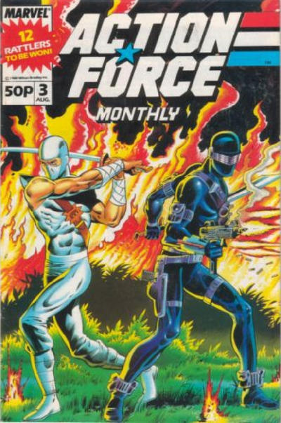 Cover for Action Force Monthly (Marvel UK, 1988 series) #3
