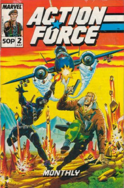 Cover for Action Force Monthly (Marvel UK, 1988 series) #2