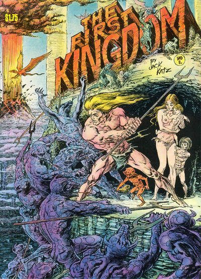 Cover for The First Kingdom (Comics and Comix, 1974 series) #1