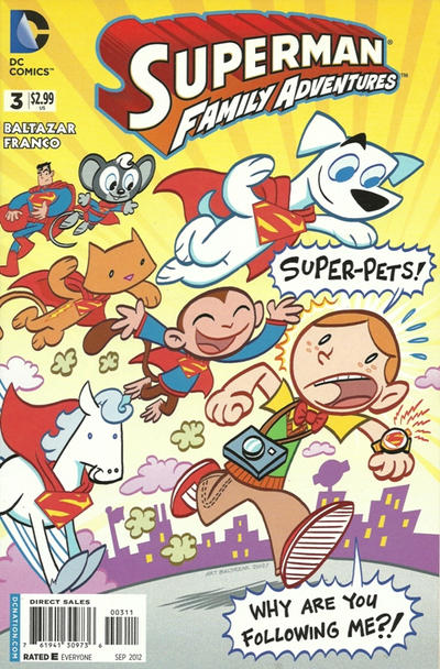 Cover for Superman Family Adventures (DC, 2012 series) #3