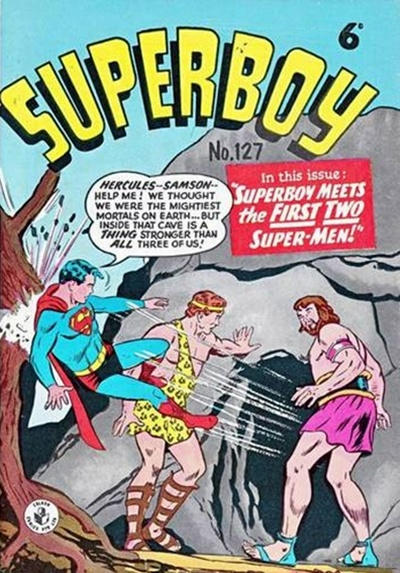 Cover for Superboy (K. G. Murray, 1949 series) #127