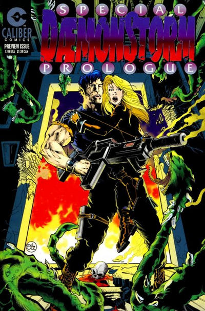 Cover for Daemonstorm Prologue (Caliber Press, 1996 series) #1
