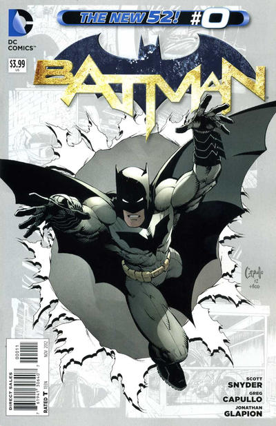 Cover for Batman (DC, 2011 series) #0 [Combo-Pack]
