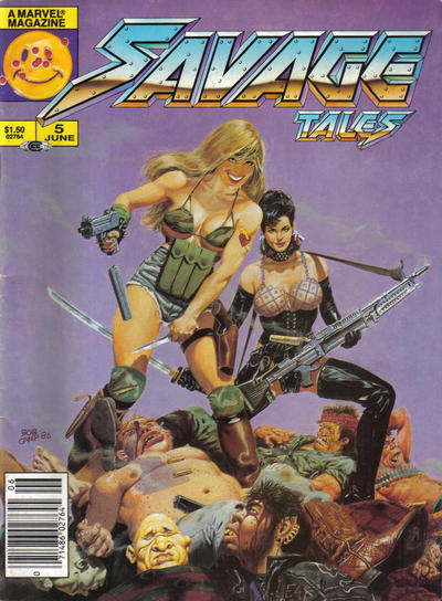 Cover for Savage Tales (Marvel, 1985 series) #5 [Direct]