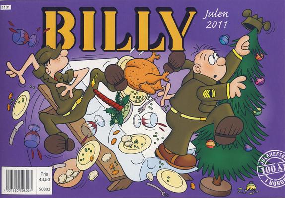 Cover for Billy julehefte (Hjemmet / Egmont, 1970 series) #2011 [Bokhandelutgave]