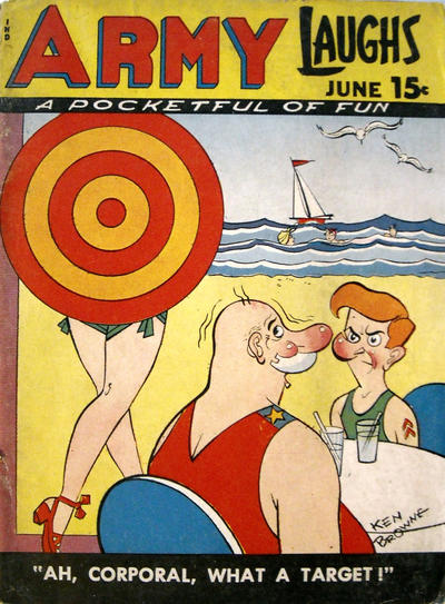 Cover for Army Laughs (Prize, 1941 series) #v8#3