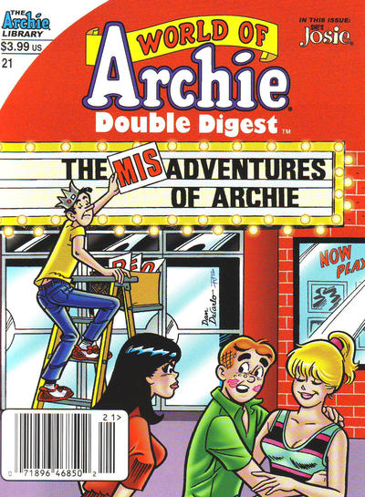 Cover for World of Archie Double Digest (Archie, 2010 series) #21 [Direct]