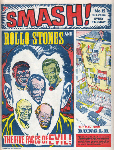 Cover for Smash! (IPC, 1966 series) #12