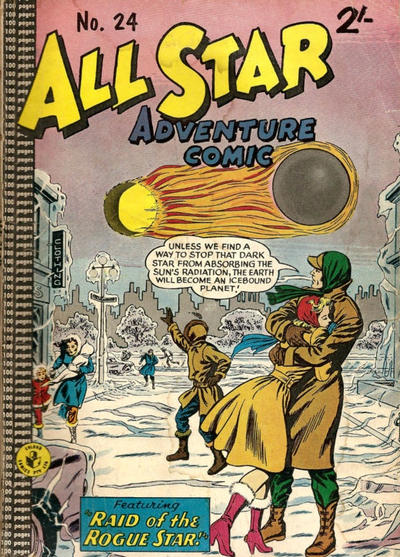 Cover for All Star Adventure Comic (K. G. Murray, 1959 series) #24