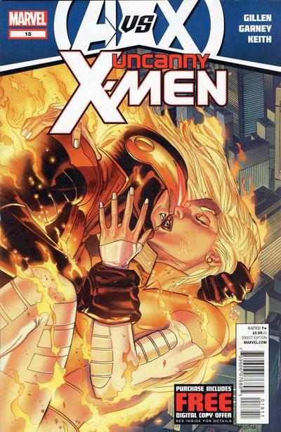 Cover for Uncanny X-Men (Marvel, 2012 series) #18