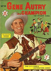 Cover for Gene Autry and Champion (World Distributors, 1956 series) #33