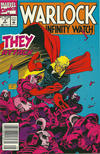Cover for Warlock and the Infinity Watch (Marvel, 1992 series) #4 [Newsstand]