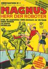 Cover for Condor Superhelden Taschenbuch (Condor, 1978 series) #4 - Magnus, Herr der Roboter