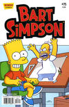 Cover for Simpsons Comics Presents Bart Simpson (Bongo, 2000 series) #75