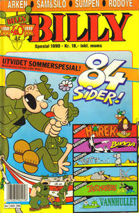 Cover Thumbnail for Billy Sommerspesial (Semic, 1986 series) #1990