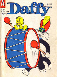 Cover Thumbnail for Daffy (Allers Forlag, 1959 series) #20/1964