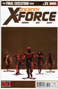 Cover Thumbnail for Uncanny X-Force (Marvel, 2010 series) #31