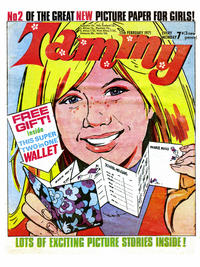 Cover Thumbnail for Tammy (IPC, 1971 series) #13 February 1971