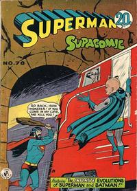 Cover Thumbnail for Superman Supacomic (K. G. Murray, 1959 series) #78