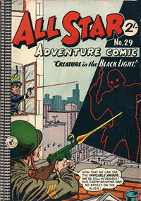 Cover Thumbnail for All Star Adventure Comic (K. G. Murray, 1959 series) #29
