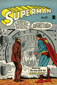 Cover Thumbnail for Superman (K. G. Murray, 1947 series) #127