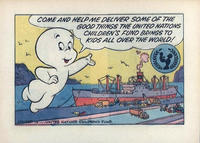 Cover Thumbnail for Casper (UNICEF Promotional) (Harvey, 1973 series)