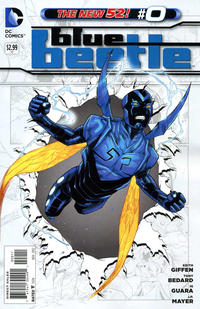 Cover Thumbnail for Blue Beetle (DC, 2011 series) #0