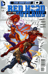 Cover Thumbnail for Red Hood and the Outlaws (DC, 2011 series) #0