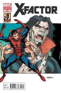 Cover Thumbnail for X-Factor (Marvel, 2006 series) #237 [Amazing Spider-Man In Motion Variant Cover]