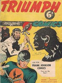Cover Thumbnail for Triumph Comics (Frank Johnson Publications, 1946 series)