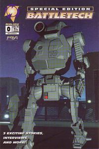 Cover Thumbnail for Battletech (Malibu, 1995 series) #0