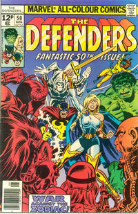 Cover Thumbnail for The Defenders (Marvel, 1972 series) #50 [British]