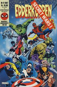 Cover Thumbnail for Edderkoppen (Semic, 1984 series) #9/1987