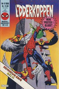 Cover Thumbnail for Edderkoppen (Semic, 1984 series) #8/1988