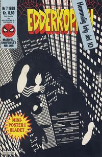 Cover Thumbnail for Edderkoppen (Semic, 1984 series) #7/1988