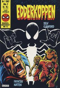 Cover Thumbnail for Edderkoppen (Semic, 1984 series) #1/1987