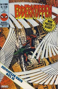 Cover Thumbnail for Edderkoppen (Semic, 1984 series) #9/1988