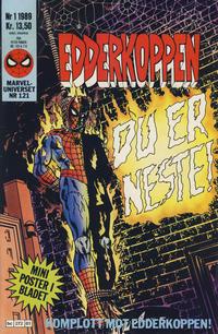 Cover Thumbnail for Edderkoppen (Semic, 1984 series) #1/1989