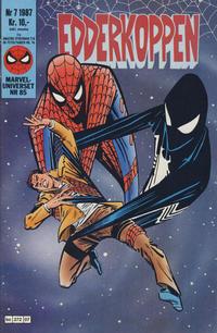 Cover Thumbnail for Edderkoppen (Semic, 1984 series) #7/1987
