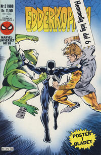 Cover Thumbnail for Edderkoppen (Semic, 1984 series) #2/1988
