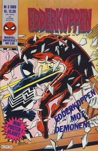 Cover Thumbnail for Edderkoppen (Semic, 1984 series) #3/1989