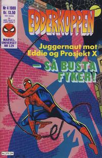 Cover Thumbnail for Edderkoppen (Semic, 1984 series) #4/1989
