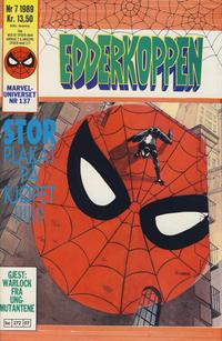 Cover Thumbnail for Edderkoppen (Semic, 1984 series) #7/1989