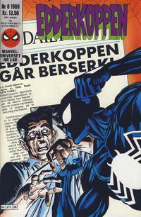 Cover Thumbnail for Edderkoppen (Semic, 1984 series) #8/1989