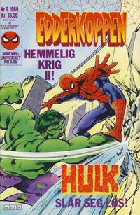 Cover Thumbnail for Edderkoppen (Semic, 1984 series) #9/1989