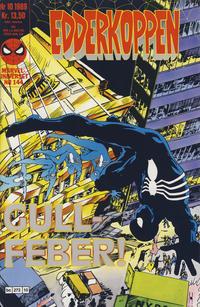 Cover Thumbnail for Edderkoppen (Semic, 1984 series) #10/1989