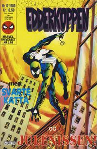 Cover Thumbnail for Edderkoppen (Semic, 1984 series) #12/1989