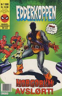 Cover Thumbnail for Edderkoppen (Semic, 1984 series) #7/1990