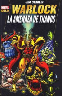 Cover Thumbnail for Marvel Gold. Warlock: La Amenaza de Thanos (Panini España, 2012 series) #[nn]